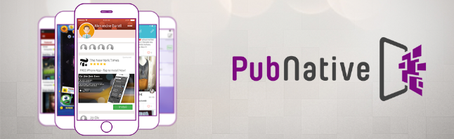 PubNative - native mobile advertising platform