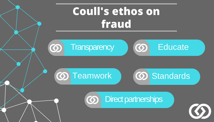 One idea, countless battles: Coull's journey against fraud