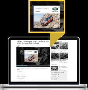 OverStream OnPause - video advertising format