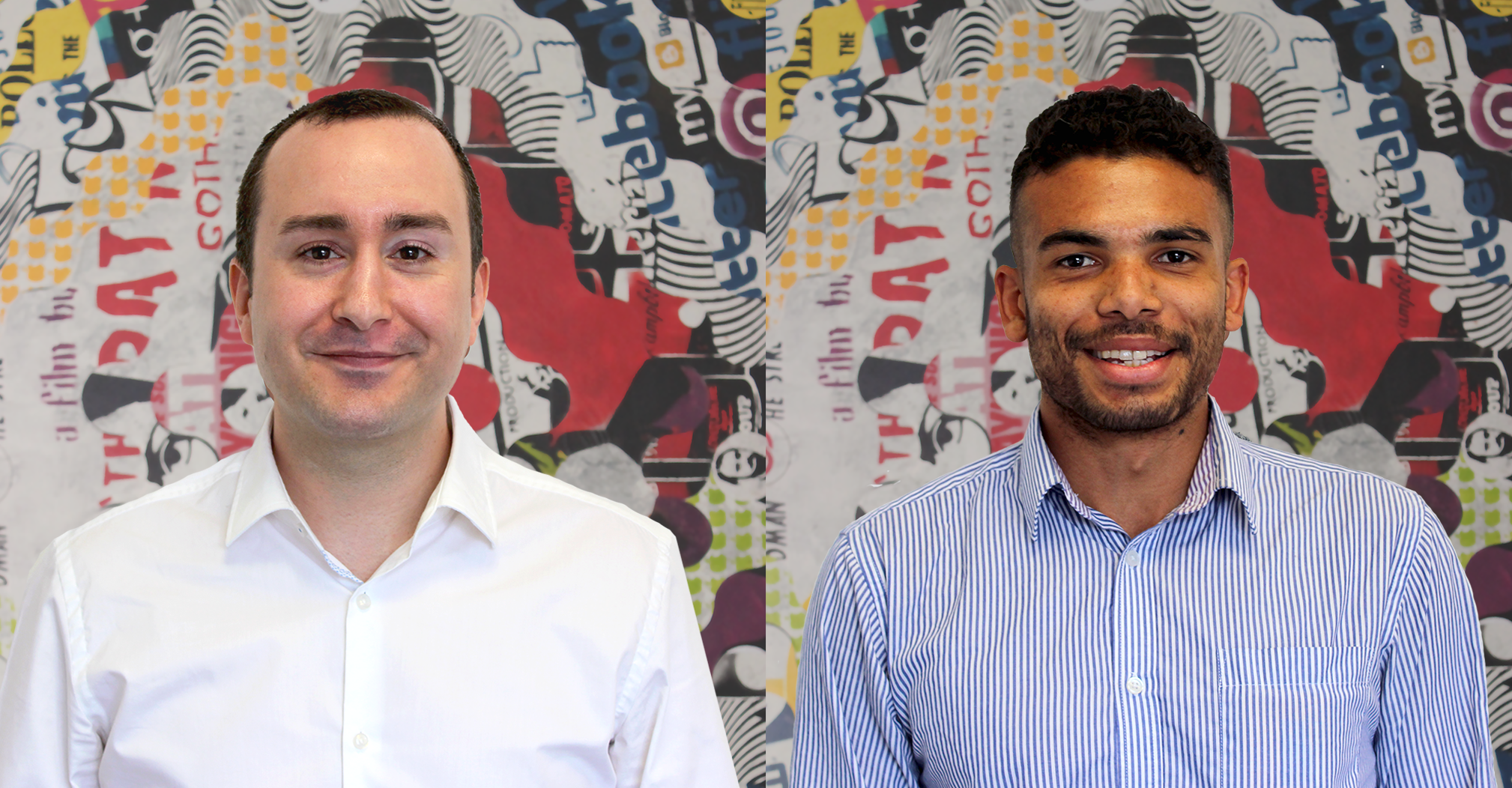 Coull people - Jamie and Arron, new team members