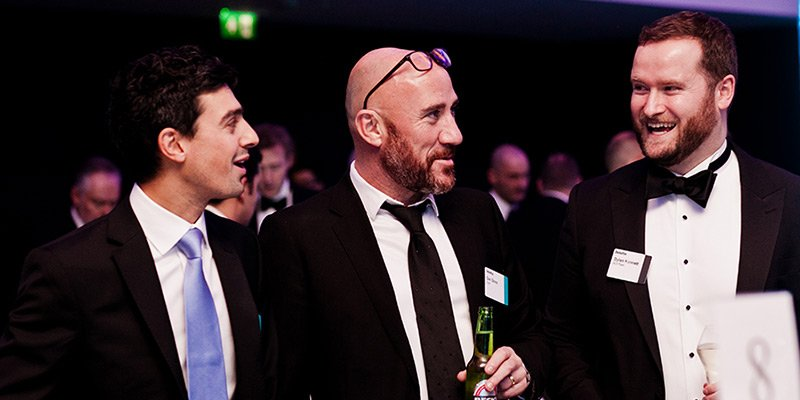 Coull at Deloitte awards