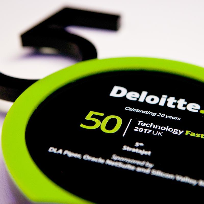 Deloitte Tech Fast 50 award