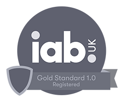 IAB Gold Standard Registered logo