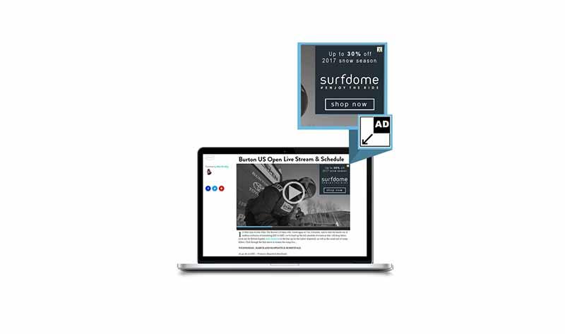 OverStream Minimising MPU video ad format