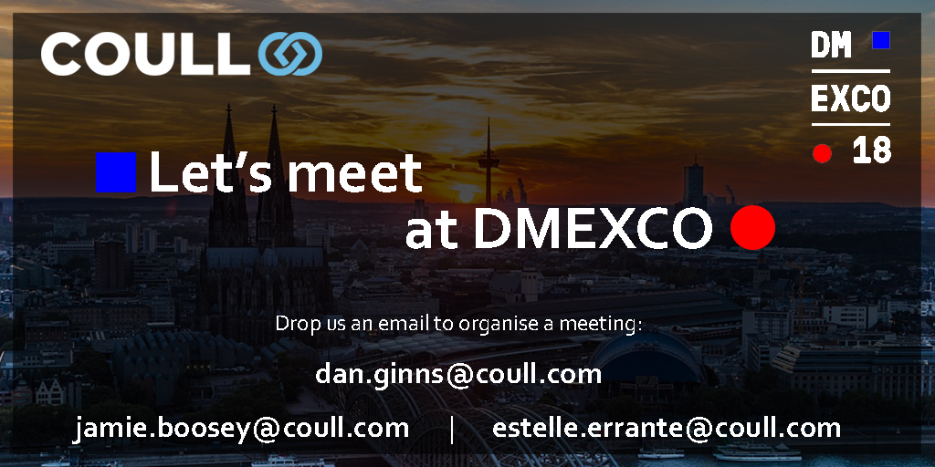DMEXCO 2018 with Coull