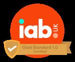 IAB Gold Standard Certified logo